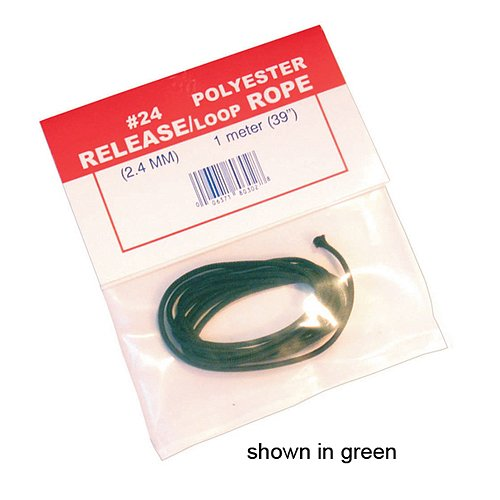 BCY 24 D Loop Rope 1 meter Flo Green