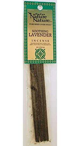 Nature Nature Pure Resin Incense - Lavender Scent - 10 Sticks - incensecentral.us