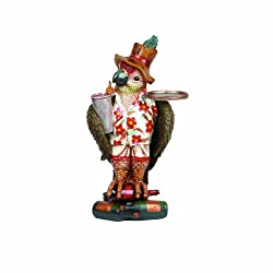 RAM Gameroom Products 40-Inch Parrot Waiter with Tray