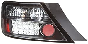 FK Automotive FKRLXLHO8041 - Faros traseros LED para Honda Civic FK3/FN3, año 06-, color negro