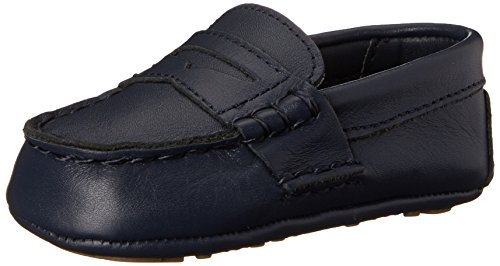 Ralph Lauren Layette Telly Loafer (Infant/Toddler), Navy, 4 M US Toddler