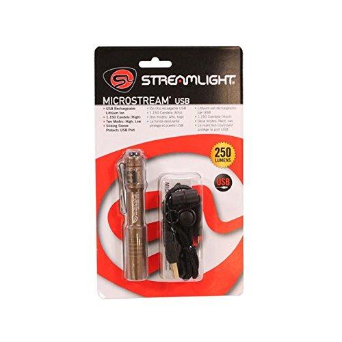 Streamlight 66608 Flashlight Micro Stream USB - Coyote
