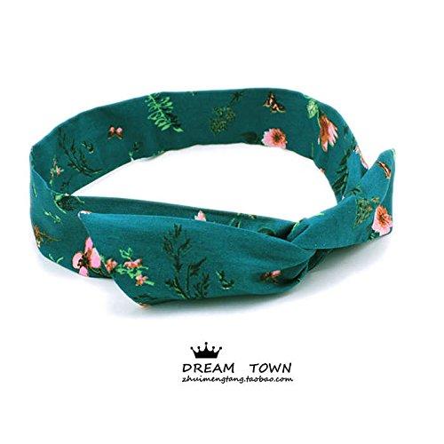 Custom high end Hand Tailored Silk Scarf Retro Spirit Boutique Light Green Background Flowers Soft Poplin Basis (Tailored Scarf)