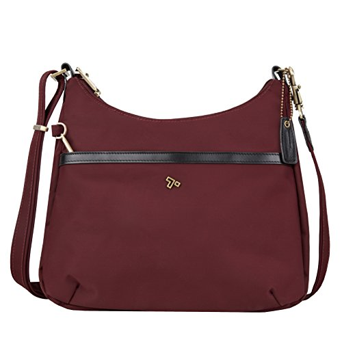 Travelon Anti-Theft Ltd Hobo Bag, Wine