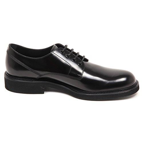 Shiny Shoe Scarpe Black Tod's E3676 Uomo Man Nero Classica Derby Scarpa IwI0Y