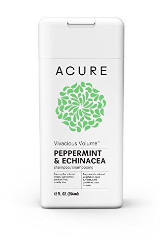(ACURE Vivacious Volume Peppermint Shampoo, 12 Fl. Oz. (Packaging May Vary))