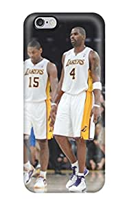 Tpu Case Cover For Iphone 6 Plus Strong Protect Case - Los Angeles Lakers Nba Basketball (35) Design