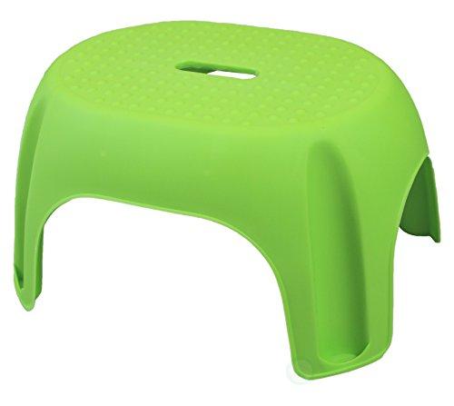 Green Plastic Step Stool