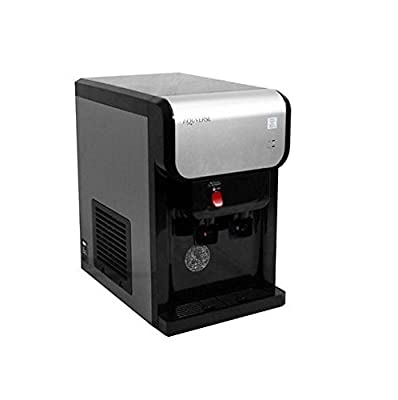 Aquverse Counter Top Water Dispenser with Filters, 1PH Bottleless water Cooler with Install Kit