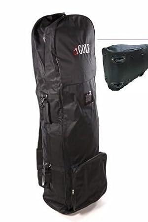 9530163ea2 Sac pour transport de clubs de golf, coque souple rembourrée,  extensible,
