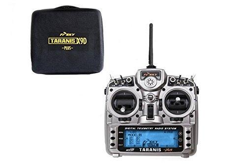 FrSky-Taranis-X9D-plus-24ghz-ACCST-Radio-Transmittermode-2-w-EVA-Case