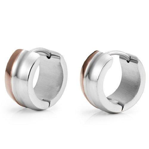 nuevo producto a7ef6 7c4f9 R&B Joyas - Pendientes de hombre, anillos masculinos 2 ...
