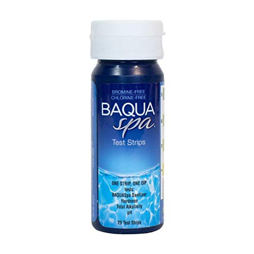 (Baqua Spa 88854 Strips-4 Way Spa Water Testing, Clear)