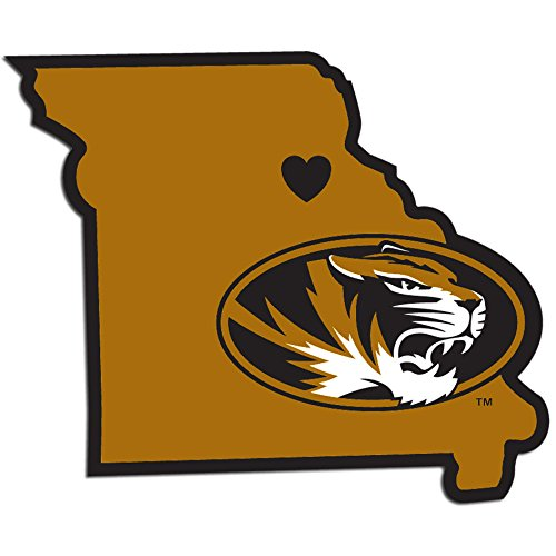 NCAA Missouri Tigers Home State Decal, ()
