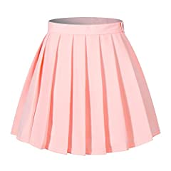 Simply designed skirt is basic but stylish,Lovely skirt for school and play.perfect compliment to a Girl Scout Cadette/Senior/Ambassador/Back to school season uniform , Alaso it can fit for many other occasions: scooters play ,halloween ,chri...