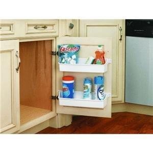 Shelf Door Storage Kitchen Cabinet Cleaning Product Organizer Tray