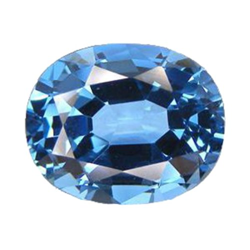 Blue Simulated Tourmaline 18mm