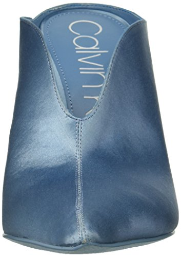 Mallie Pump Women's Blue Calvin Faded Satin Klein q7E66wtnH1
