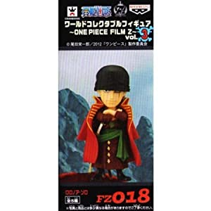 One Piece World Collectable Figure ONE PIECE FILM Z vol.3 [FZ018. Roronoa Zoro] (single item) (japan import) by One-piece dress