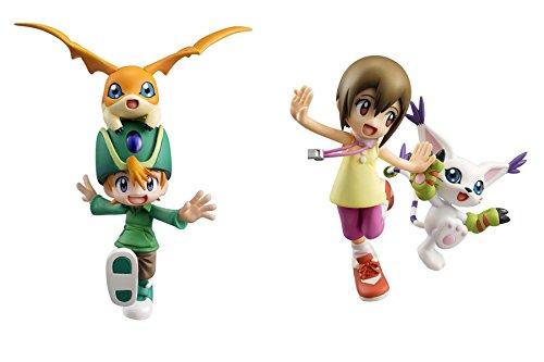 Megahouse G.E.M Digimon Adventure:Yagami Hikari & Tailmon and Takeru Takaishi & Patamon PVC Figure Set (Digimon World Ds)