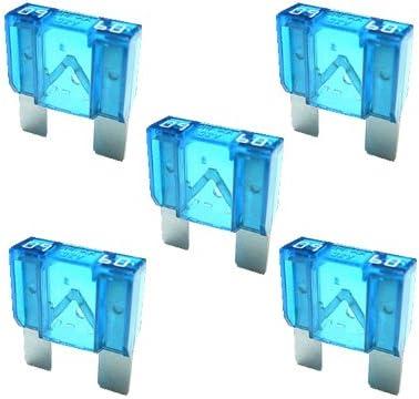 5 X Flachstecksicherung Maxi Sicherung 60a 32v Blau Auto