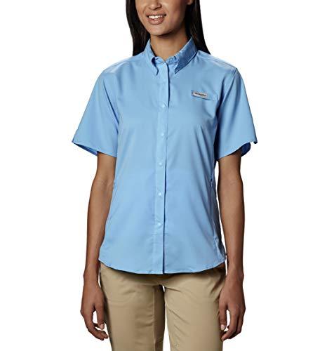 Columbia Women's Tamiami II Short Sleeve Fishing Shirt (White Cap, Medium) (Cap Sleeved Shirt)