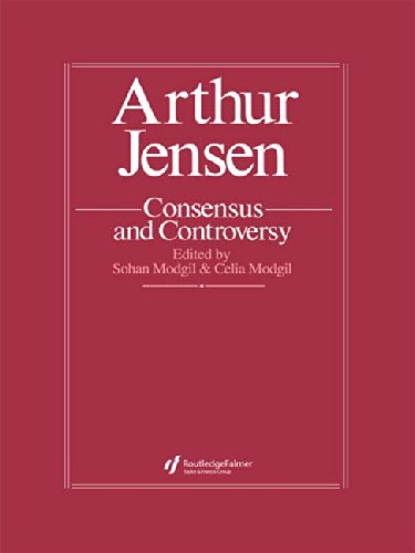 Arthur Jensen: Consensus And Controversy (Falmer International Master-Minds Challenged, 4)