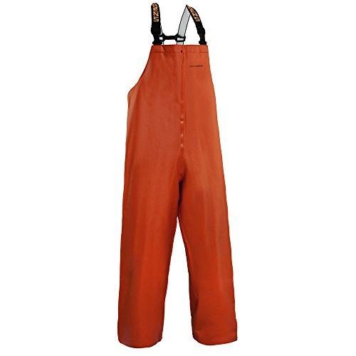 Clipper Men's Bib Pant, Orange, Medium