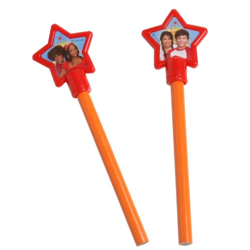 High School Musical: Friends 4 Ever Pencils and Toppers (4 count) -