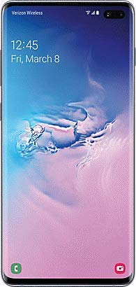 Samsung Galaxy S10+ Plus Verizon + GSM Unlocked 128GB Blue (Renewed)