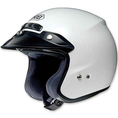 Shoei RJ Platinum-R 3/4 Helmet (MEDIUM) (WHITE)