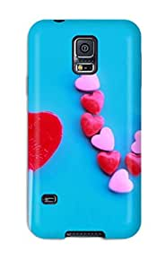Forever Collectibles I Am In Love Hard Snap-on Galaxy S5 Case Sending Screen Protector in Free