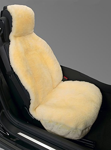 Eurow Genuine Australian Sheepskin Sideless Seat Cover - - Choosing Fleece Cat Plush