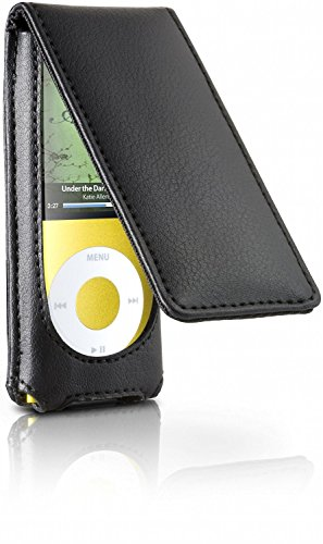 17 Hipcase Folio (Leather Flip Case for iPod nano 4G )