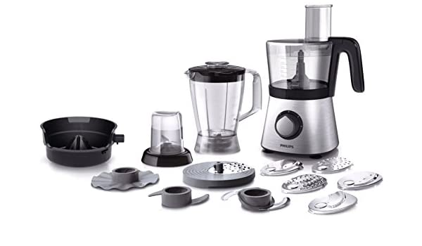 Philips Viva Collection HR7769/00 - Robot de cocina (Metálico, 50/60 Hz): Amazon.es: Hogar