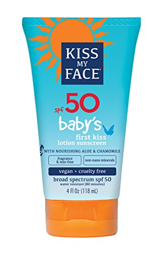 Kiss My Face Baby's First Kiss Sunscreen Lotion SPF 50 4 oz