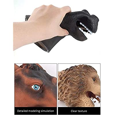 Yppss Realistic Puppet Glove Toy Hand Puppet Animal for Children, Baby, Shows, Games, Schools: Garden & Outdoor