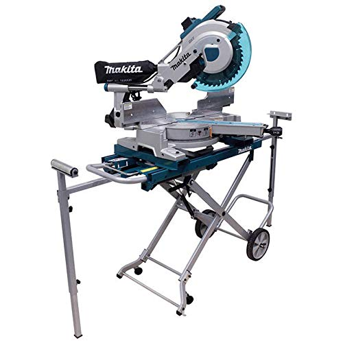 Makita LS1216LX4 12-Inch Dual Slide Compound Miter Saw with Laser and Stand