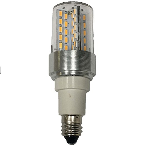 Classic Light Bulb - JD or (T6/T6.5/T7/T8/JD/S9) 4 Watt E11 Intermediate Twist And Lock Halogen Replacement LED Single Ended Silicon Lamp (110-120V) (1 Pack)