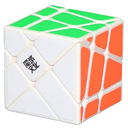 Crazy MoYu YJ  YJ Speed Fisher Cube YiLeng Black Crazy Puzzle Fisher Fisher