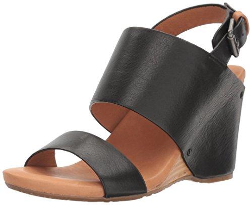Gentle Souls Women's Inka Wedge Sandal Black Ub1r6aPg