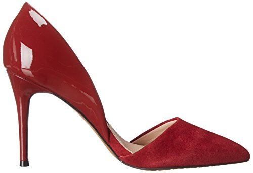 Elvia Runaway Connection French Red Pump Dress Women's vq7qnAP