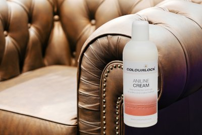 COLOURLOCK Aniline Leather Cleaning and Care Kit to protect and waterproof aniline, waxed, oily or pull up leathers on furniture suite, sofas, settee, shoes, jackets, bags and garments by Colourlock (Image #6)