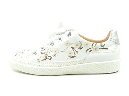 Softwaves 7-01-30b Scarpe Sneakers Basse Da Donna Scarpe Stringate Bianche
