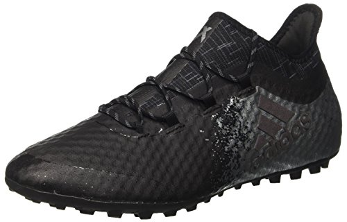 adidas Herren X 16.1 Cage Fußballschuhe, Schwarz Mehrfarbig (Cblack/Cblack/Solred)