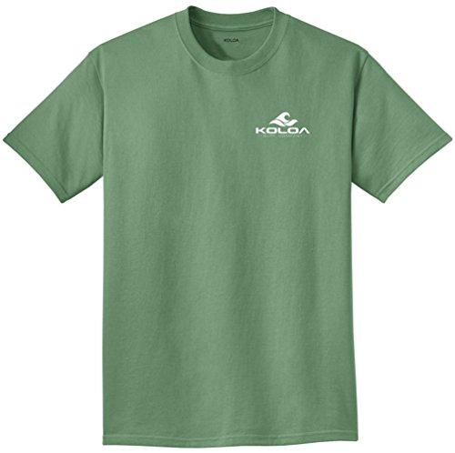 Logo Pigment - Koloa 2 Side Wave Logo Pigment-Dyed T-Shirt-Safari/w-3XL