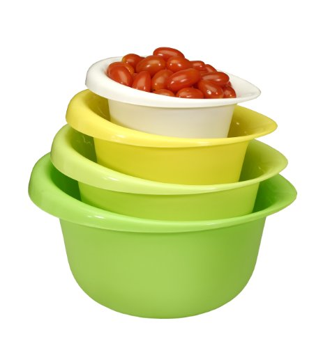 Cook Pro 4 piece Mixing Bowl Set