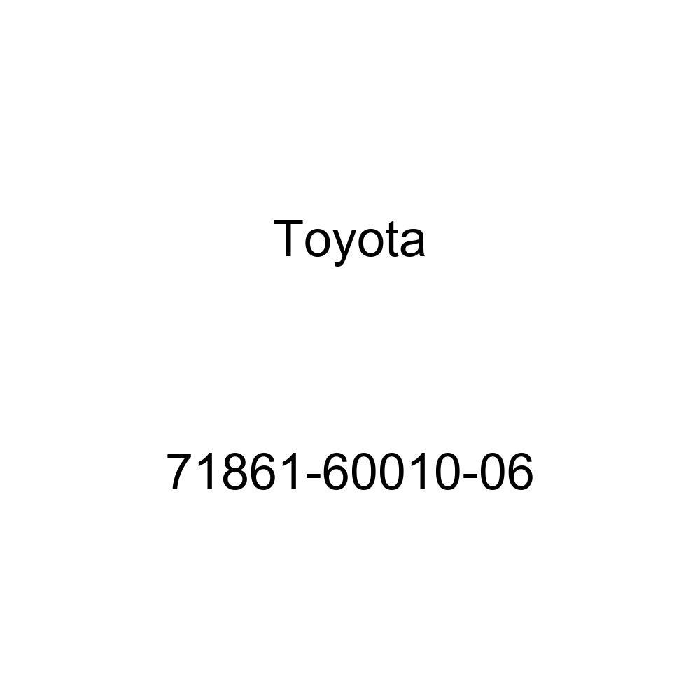 TOYOTA Genuine 71861-60010-06 Seat Cushion Shield