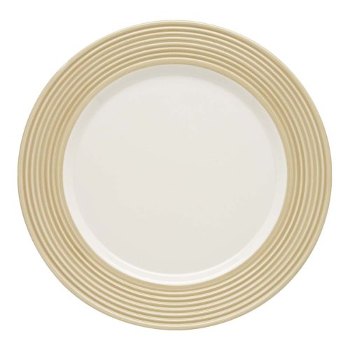 - Lenox Tin Can Alley Seven Degree Dinner Plate, Khaki