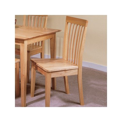 Mission Back Side Chair [Set of 2] Finish: Natural